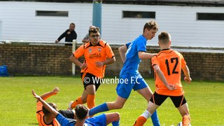 Wivenhoe Town Vs Stanway Villa Under 18's 8.9.19