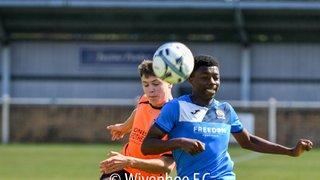 Wivenhoe Town Vs Stanway Villa Under 18's 8.9.19