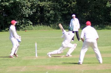 Headingley Bramhope CC A v Thorner Mexborough CC 8/7/17, Old Lane, Bramhope, Leeds.