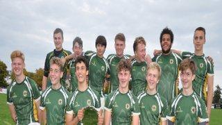 Saffron Walden RFC U16s win Cambridge Rugby 7s tournament