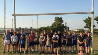 Summer touch rugby finishes :(