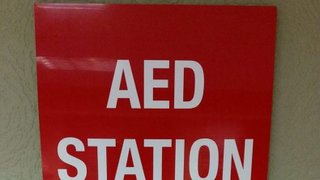 We've got an AED station