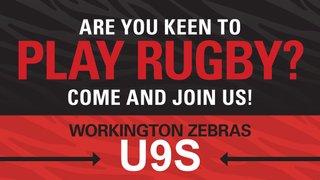 U9s training starts this week