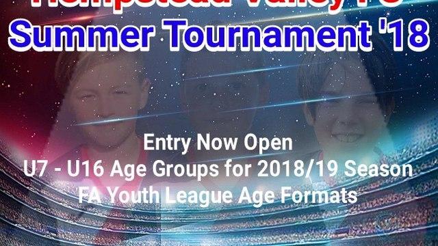 HVFC  Summer Tournament 2018