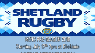 MENS PRE-SEASON 2018 - NEW PLAYERS WELCOME