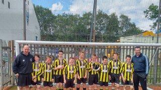 Queensgate FC Win U12's Respect League Foundation Cup!