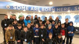 U11's Manchester City Stadium Tour (03/2018)