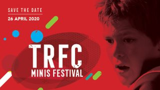 TRFC Mini & Junior Festivals 2020 - Save the Date