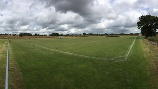 Pre-season pitch and ground maintenance.