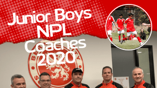 Junior Boys NPL Coach Appointments