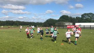 Ulster Rugby - Summer Camp at Omagh RFC - July 2019