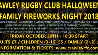 Halloween & Family Fireworks Night - Things To Know