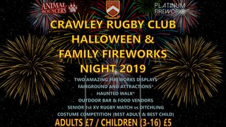 Halloween & Family Fireworks Night 2019