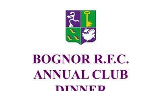 BOGNOR R.F.C. ANNUAL CLUB DINNER