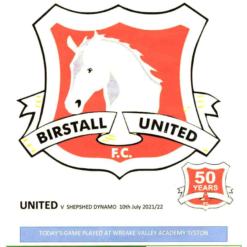Pre Season Game 1 - 2021/2022 - Birstall United v Shepshed Dynamo - 10.7.2021 - Pictures by Steve Straw