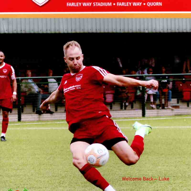 Pre Season Game 2 - Quorn A.F.C. v Shepshed Dynamo - 14.7.2021 - Pictures by Steve Straw