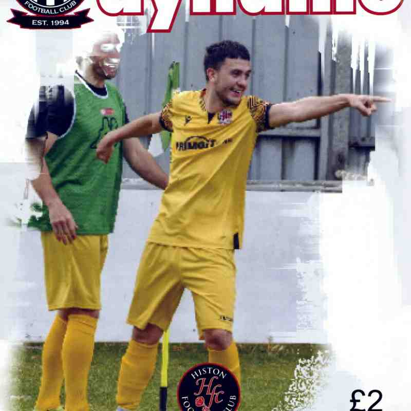 Northern Premier League - Midlands - 2021/2022 - Shepshed Dynamo F.C. v Histon F.C. - Home - 18.9.2021- Pictures by Steve Straw