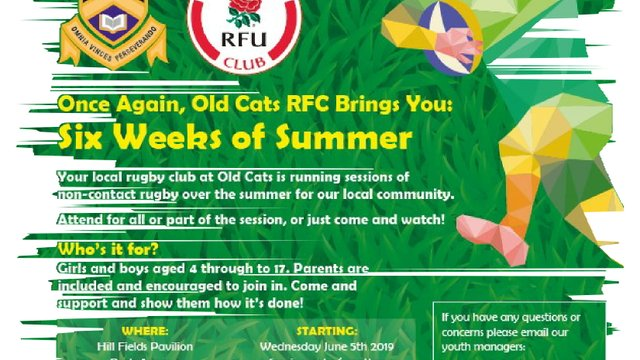 Summer Fun Rugby is ON Tonight