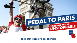 Pedal to Paris With British Legion