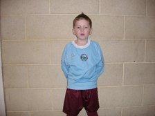 Birthday boy scores his first hat-trick