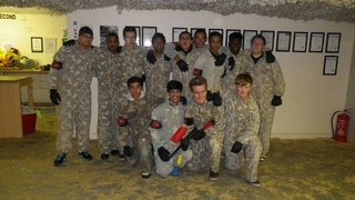 Christmas Night Out Paintballing 2013