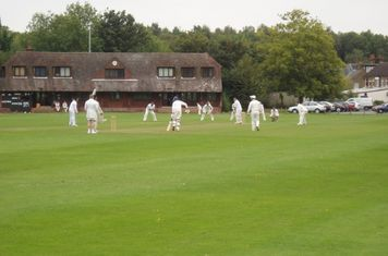 2nd XI game in progress