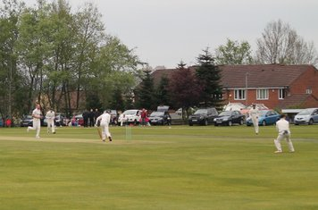 6th wicket - Dean Bamsey is caught by Chris Lowndes off Christi.