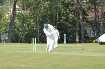 Sam Waterhouse batting against Eccleshall.