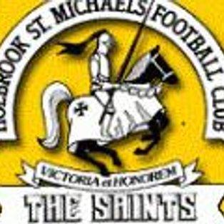 Match Report - Belper United Reserves 3-4 Holbrook St Michaels Reserves - 01/03/14 CML Reserves Premier.