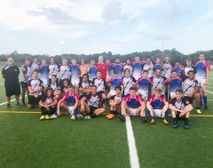 Tuesday July 17th 2018 Okapi Wanderers Rugby FC U17 beats Harton Tech College UK.