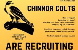 Chinnor Colts to run two teams next season!