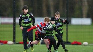 U11s test their skills against Jersey