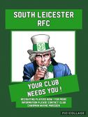 South Leicester RFC - recruiting players now !