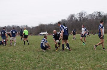 Jeffy just happy he scored before being tackled!