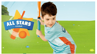 All Stars Cricket for players 5-8 years old
