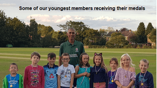 Junior cricket season summary and awards