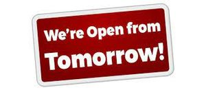 Club reopens Wednesday 21st July 5.30pm
