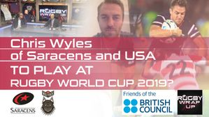 On Camera: USA Rugby & Saracens Star Chris Wyles, Washington Irish Whitney Stowell