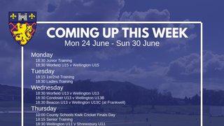 This Week: Junior Cricket Galore, plus England vs India