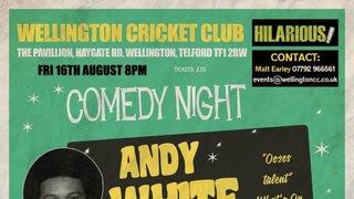 Comedy Night at Wellington Cricket Club