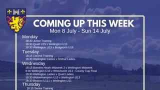 This Week: U13s Cup Final, U19s, - oh, and the CWC Final!