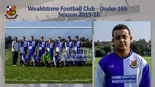 Under 16b - Team and Player 2015-16
