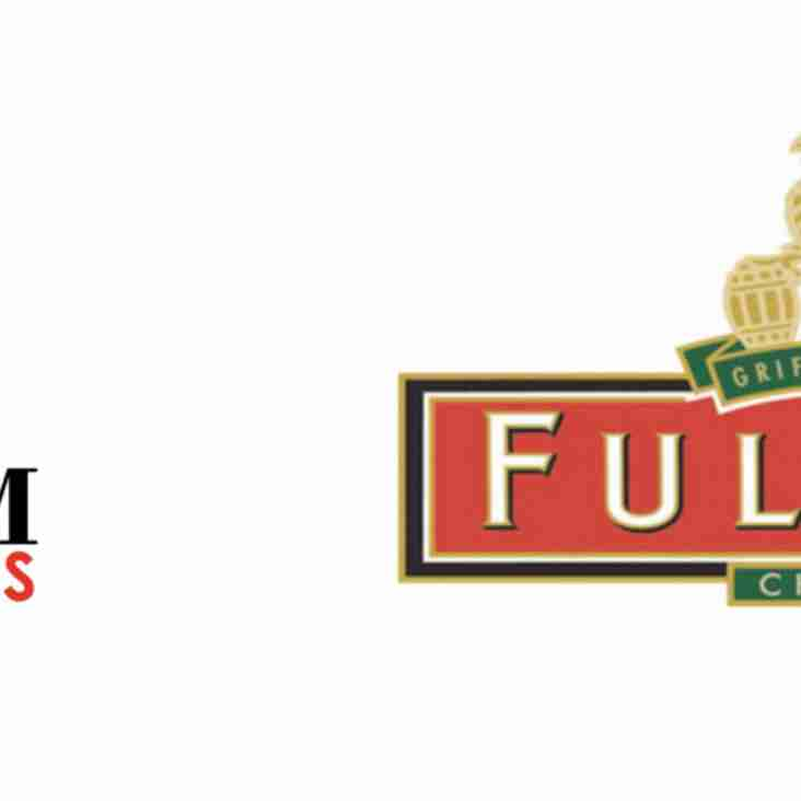 The 2020 AJ Fordham & Fuller's Brewery Challenge Cup