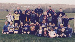 Rhinos Foundation Attend Junior Training