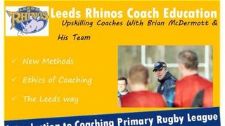 Introduction To Coaching Primary Rugby League Workshop