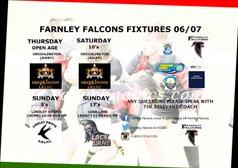 Weeks Fixtures