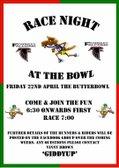 Race Night for All Junior teams