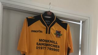 Ponte Colls New Away Strip revealed