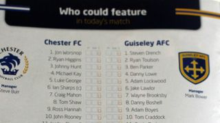 Under 8s - Chester V Guiseley