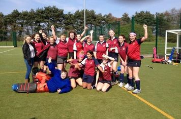 Ladies 2nds - Warwickshire Women's League Division 4 Champions, 2014